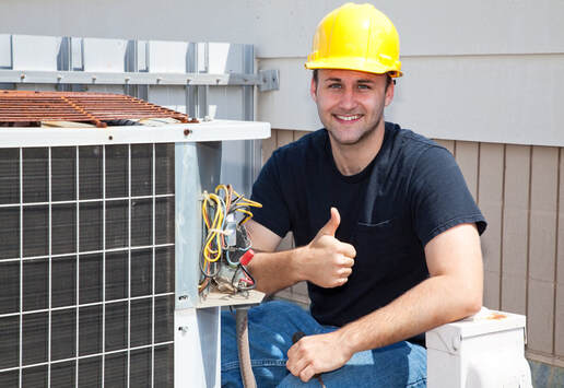 Air Conditioning Repair Man