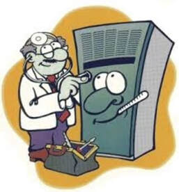 furnace doctor cartoon